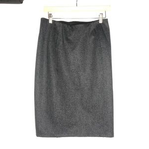 Liverpool Size 6 Bia Pencil Skirt Grey Tweed NWT